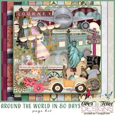 Personal Use :: Kits :: Around the World In 80 Days Page Kit #thestudio    #AllIWant