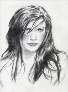 pencil drawing - Liv Tyler