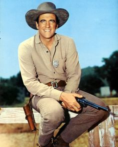 James Arness (5/26/23 - 6/3/2011) American actor, best known for portraying Marshal Matt Dillon in the television series Gunsmoke for 20 years.
