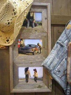 Old barn wood frame