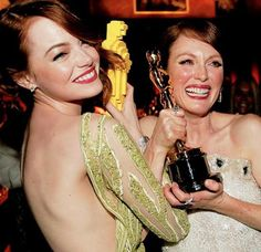 Emma Stone and Julianne Moore: How To Get Their #Oscars Hair (and Lips) | How to be a Redhead