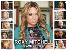 Roxy Mitchell Family Ties Half Brother, Soap Stars, Tv Soap, Tv Quotes, East London, The Duff, Bbc, Daughter