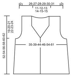 """Crochet DROPS waistcoat with fan pattern in """"Cotton Viscose"""". Size XS - XXL. ~ DROPS Design"""