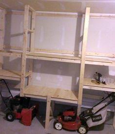 garage storage snow blower - Google Search