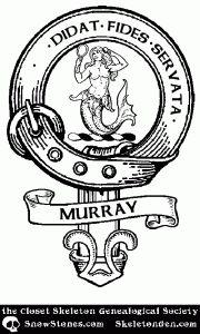 #ClosetSkellies Surname: Murray