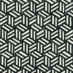Wallpaper- Miles Redd TUMBLING BLOCKS Double Rolls by SouthernShadesHome on Etsy https://www.etsy.com/listing/252637020/wallpaper-miles-redd-tumbling-blocks