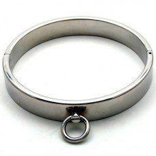 Fetisch und Bondage Stahl Verschluss Halsband