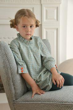 Brit Chic Signature Alexa Shift Dress in Geo Green exclusive print Kids Winter Fashion, Winter Kids, Kids Fashion, Turtle Neck, Pullover, Chic, Sweaters, Geo, Dresses