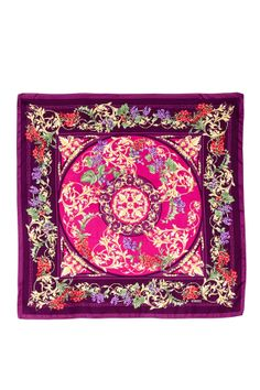 Versace Silk Floral Scarf http://www.atelier-fereti.com/product-categorie/zijde-foulards/