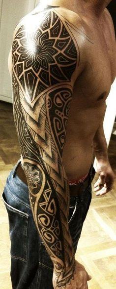 tatuagem tribal 1 #tattoossamoantribal
