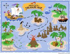 free printable pirate treasure map - Google Search
