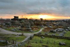 The Balancing Idol Rock of Brimham Moor   North Yorkshire, England