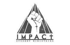 logo creation for Impact Student Ministries, a youth group from Crowley Louisiana.