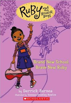 Brand New Brought to you by Newbery Honor author Derrick Barnes, eight-year-old Ruby Booker is the baby sis of Marcellus Roosevelt and Tyner the most popular boys on Chill Brook Ave. When Ruby isn't hanging with her friend, Theresa Petticoat, she' African American Books, American Children, American Girls, African Literature, American History, Books By Black Authors, Black Characters, Magic Book, Chapter Books