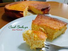 Cheesecake - Τσιζκέικ ψημένο χωρίς αλεύρι - Cook Bake Cornbread, French Toast, Cheesecake, Baking, Breakfast, Ethnic Recipes, Food, Millet Bread, Morning Coffee