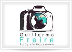 Diseño de Logotipo Guillermo Freire Fotografo Profesional  http://www.facebook.com/ing.guillermo.freire