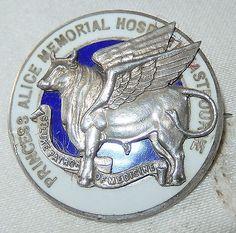 1933 Sterling Silver Princess Alice Memorial Hospital Nursing Badge Eastbourne | eBay