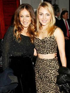Holy Manolos! Carrie Bradshaw just met Carrie Bradshaw!