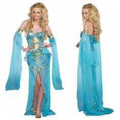 Meeresgöttin, Nixe oder Meerjungfrau ... ein tolles Kostüm der Unterwasserwelt