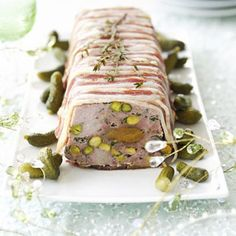 Pork, Apricot & Pistachio Terrine Recipe  with 11 ingredients Recommended by 1 users.