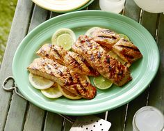 Triple Citrus Glazed Grilled Salmon Recipe : Patrick and Gina Neely : Food Network - FoodNetwork.com