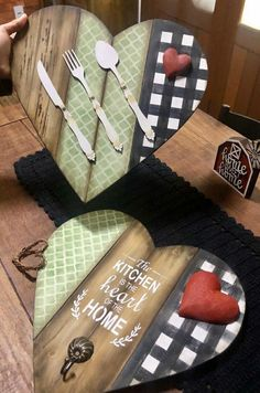Reclaimed Wood Projects, Diy Wood Projects, Diy Projects To Try, Wood Block Crafts, Wood Crafts, Mod Podge Crafts, Dollar Tree Crafts, Letter A Crafts, Art N Craft