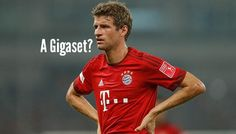 FC Bayern Munich Stars have to use a Gigaset instead of the iPhone