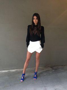 Aquazurra shoes and Zara Outfit