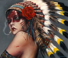 "Matador | Thinkspace Gallery Brian M. Viveros: ""Head Hunter"""