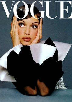 My screensaver du jour! Vogue Italia | Patricia Hartmann by Steven Meisel.