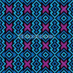 patrón de maya Inca — Ilustración de stock #12520278