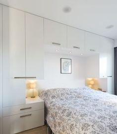 Bedroom Built Ins Around Bed . Bedroom Built Ins Around Bed . Built In Wardrobe & Desk Bedroom Built Ins, Small Master Bedroom, Closet Bedroom, White Bedroom, Home Decor Bedroom, Bedroom Ideas, Bedroom Furniture, Closet Wall, Bedroom Headboards