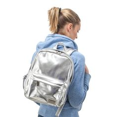 Currently inspired by: Metallic Backpack Silver on Fab.com