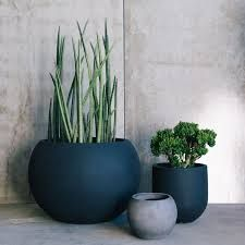 Image Result For Pots Black White And Grey Mixed Balcony