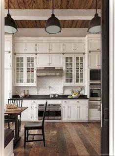 01 Gorgeous Modern Farmhouse Kitchen Backspash Ideas