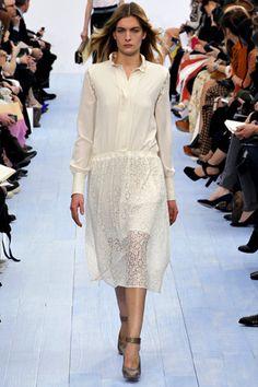 Fall 2012 RTW, Designer: Chloe, Model: Ophelie Rupp