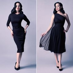 Looks from the debut Dita von Teese collection