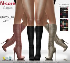 NCore Group Gift Calyssa Boots Fatpack