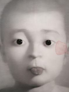 THE BOT WHO STINGS OUT HIS TONGUE, Zhang Xiaogang (張曉剛; b1958, Kunming, China)