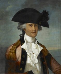 Portrait of an Unknown Army Officer, 1786, British Library