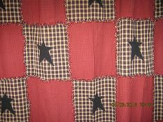 Raggy++quilt+like+shower++curtain+by+kbardo+on+Etsy,+$75.00