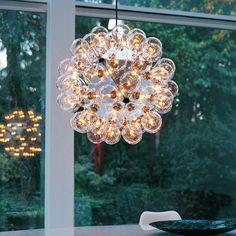 Taraxacum 88 pendel, Achille Castiglioni, Taraxacum loftlampe i aluminium