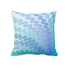 Cool Spiral Colors Pillow