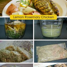 Simple Rosemary Lemon Marinade and Grilled Chicken Recipe Main Dishes ...