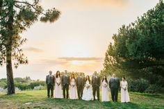 Gorgeous sunset that day...  Rancho Palos Verdes Wedding Photography: Rosie + Mike by Marianne Wilson Photography