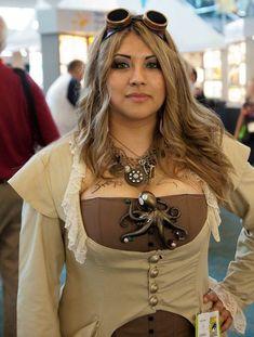 "steampunk-girl:  "" Steampunk Girl  """