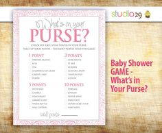 Baby Shower Game Printable - INSTANT DOWNLOAD - Pink Damask Girl Baby Shower Game - Print Friendly High Res - Girl Baby Shower on Etsy, $5.39 CAD