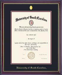 University of South Carolina Bookstore - Framing Success Windsor Diploma Frame