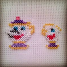 The Beauty and the Beast hama beads by hadavedre