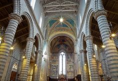 Inside the Cathedral of Orvieto, a Medieval Masterpiece